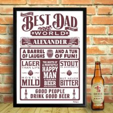 Personalised Prints for the Best Dad